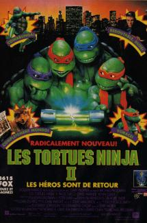 Les Tortues Ninjas 2 - Le secret de la Mutation
