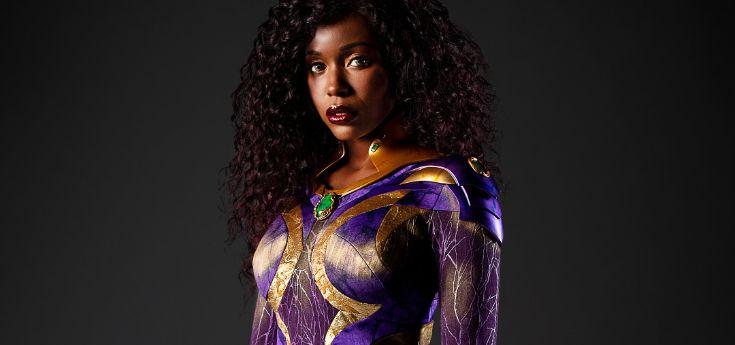 Titans : nouveau look pour Starfire dans la saison 3