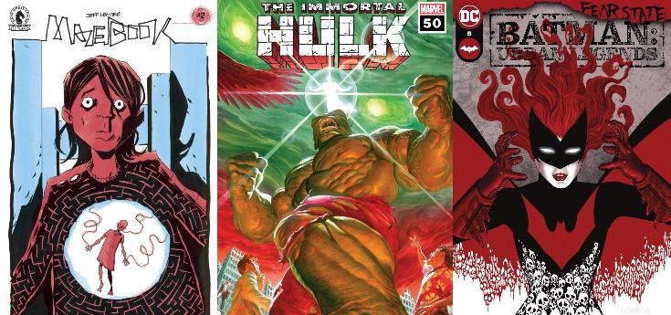 [Zap' MDCU] Sorties du 13/10/2021: Immortal Hulk #50