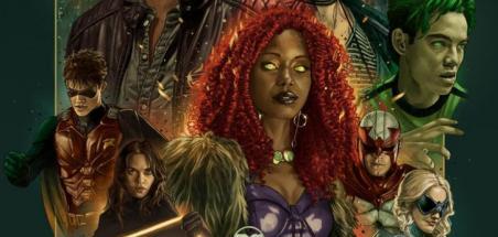 Des posters exclusives au SDCC pour les séries du DC Universe