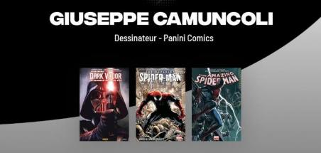 Giuseppe Camuncoli invité Panini pour la Comic Con Paris
