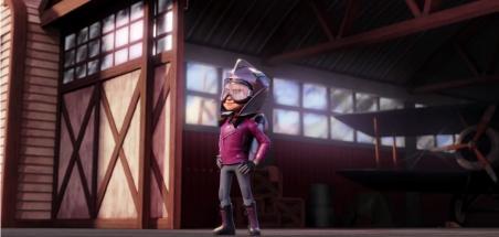 Premier aperçu de la série animée The Rocketeer