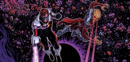 Grant Morrison à l'oeuvre sur Green Lantern : Blackstars