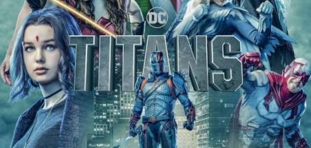 Un poster pour la saison 2 de Titans
