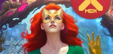 Jean Grey en couverture variante d'X-Men #1