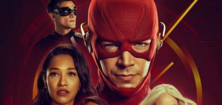 Le poster de la saison 6 de The Flash