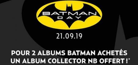 Profitez du Batman Day dans vos librairies !