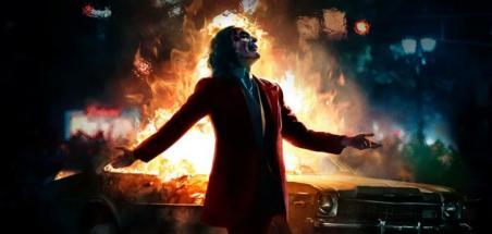 L'affiche IMAX pour le film Joker