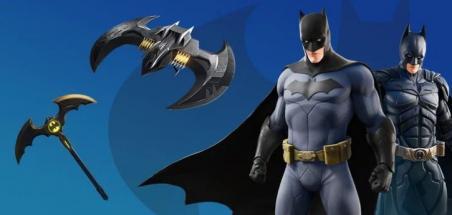 Batman s'invite dans le jeu Fortnite
