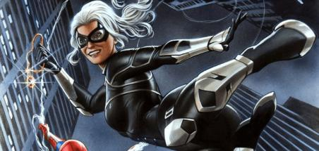 Black Cat au centre d'un comics tiré du Spider-Man sur PS4