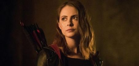 Le retour en images de Willa Holland dans Arrow