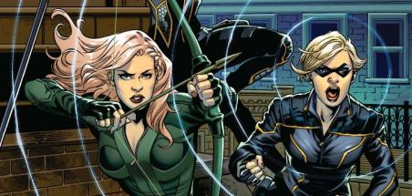 Un poster pour Green Arrow and the Canaries