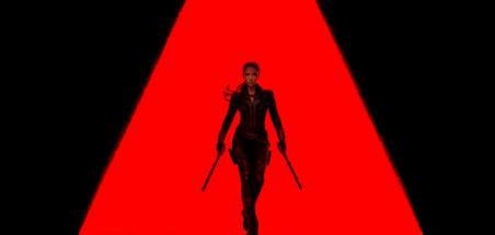 Affiche française pour le film Black Widow !