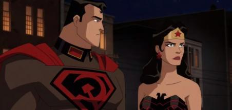 Bande annonce pour l'animé Superman: Red Son