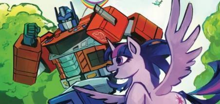 Un crossover My Little Pony/Transformers prévu