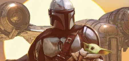 Star Wars: The Mandalorian arrive en comics