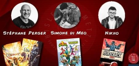 Évènement comics à Hisler BD Metz en partenariat avec MDCU