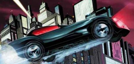 La Batmobile de Batwoman se dévoile !