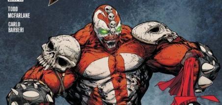Un Spawn monstrueux sur la couverture du #313