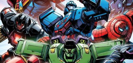 Tous les Avengers en armure dans Mech Strike !