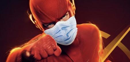 The Flash ralenti par un cas de covid-19
