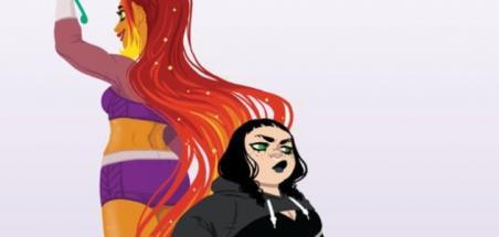 Starfire, sa fille et Poison Ivy dans 2 graphic novels DC