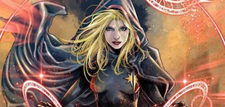 Captain Marvel devient mystique en avril