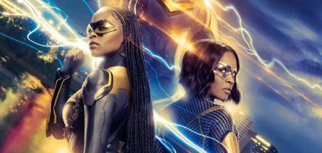 Une affiche pour la saison 4 de Black Lightning