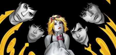 Un comic book sur le groupe Blondie chez Z2