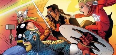 Les Avengers de retour dans Heroes Return