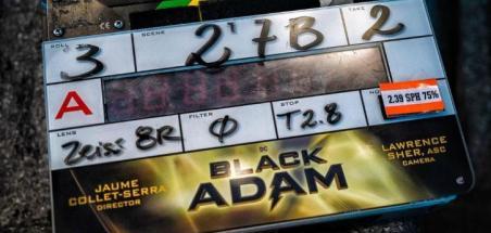 Le tournage de Black Adam a débuté