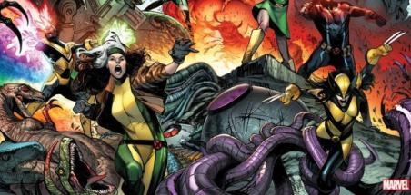Marvel dévoile la nouvelle équipe des X-Men
