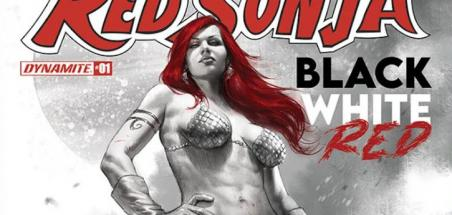 Une anthologie Red Sonja: Black, White, Red