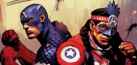 Un Captain America natif américain pour United States of Captain America #3