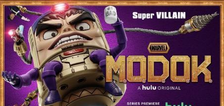 La famille M.O.D.O.K. s'affiche avant le début de la série