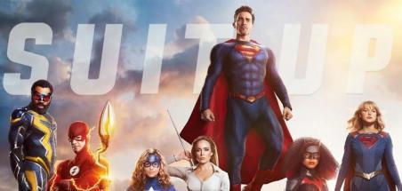 Un poster pour tous les héros DC du ArrowVerse
