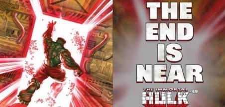Fin de la série Immortal Hulk au numéro 50