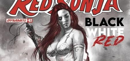 D'autres noms rejoignent l'anthologie Red Sonja: Black, White, Red