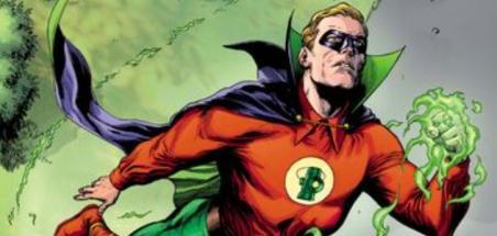 La série Green Lantern tient son Alan Scott