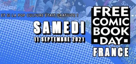 Annulation du Free Comic Book Day France 2021