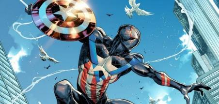Miles Morales en Captain America pour une couverture variante