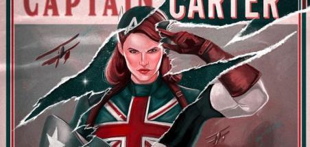 Une affiche Captain Carter pour la série What If...?
