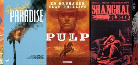Les cinq finalistes du prix comics ACBD 2021