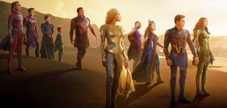 Marvel dévoile une courte scène d'Eternals