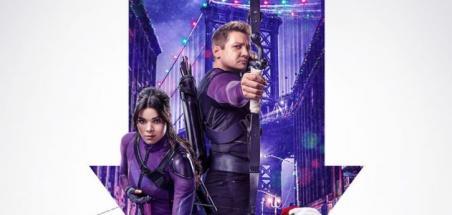 Une nouvelle affiche pour la série Hawkeye