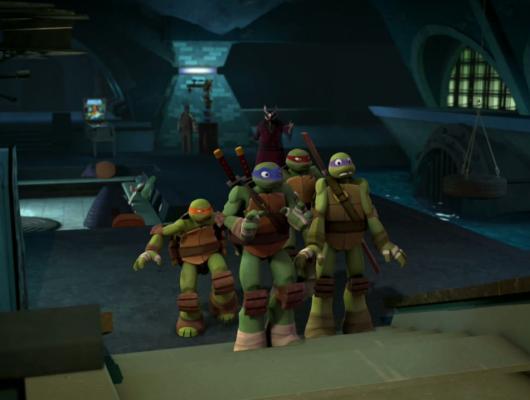 L'apparition des tortues (1/2)