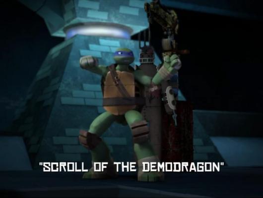 Le rouleau du Démodragon