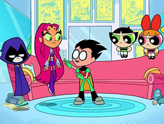 Teen Titans Go vs Les Supers Nanas