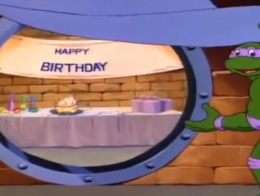 L'anniversaire de Michelangelo
