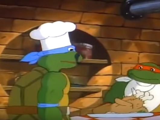 Leonardo se détend